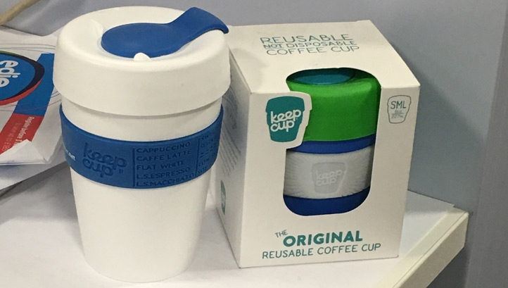 Disposable cups cannot be recycled by normal systems because they are made from cardboard with a tightly bonded polyethylene liner, which is difficult to remove