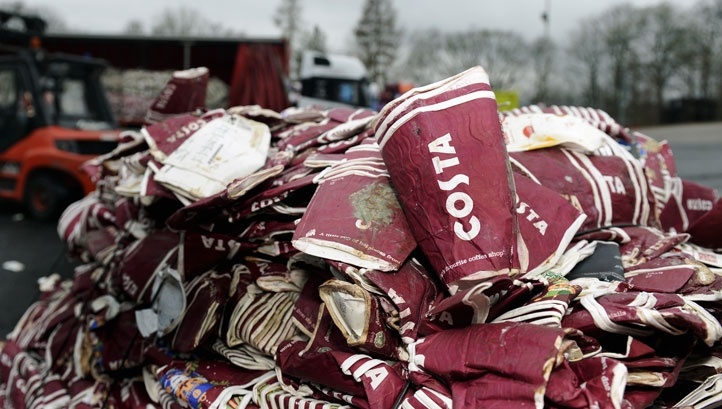 Costa already offers in-store recycling at more than 2,000 of its stores across the UK