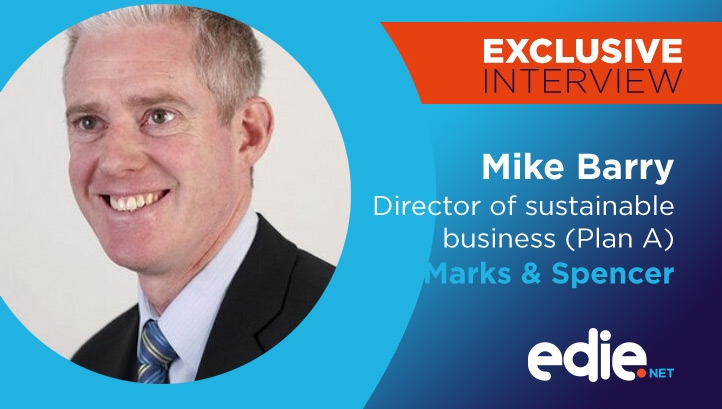 Mike Barry discussed plastic pledges, stores closures and consumer demand following the release of the retailer's Plan A sustainability update