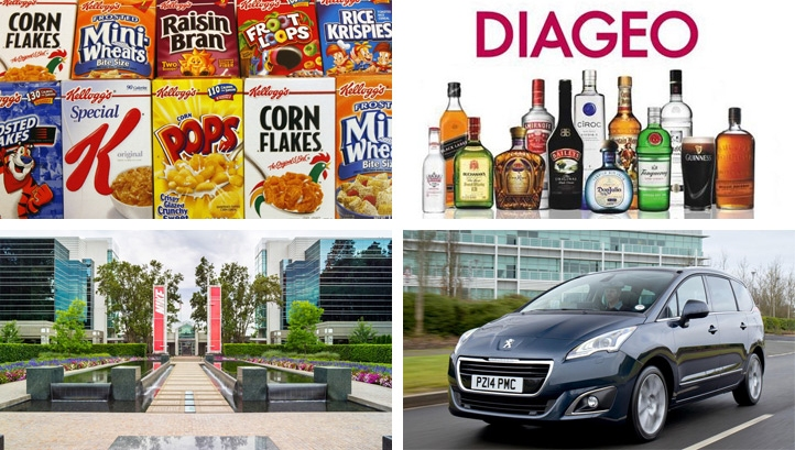 Kellogg, Diageo, Nike and Groupe PSA are among the companies to adopt the newly launched standards