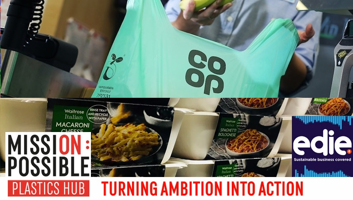 Co-op's Iain Ferguson and Waitrose's Tor Harris offer expert insight on how business can reduce reliance on plastics