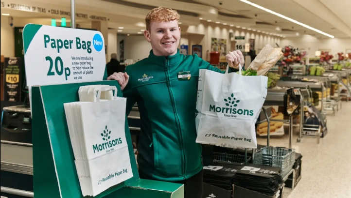 The trial will run across eight of Morrisons' stores, until April