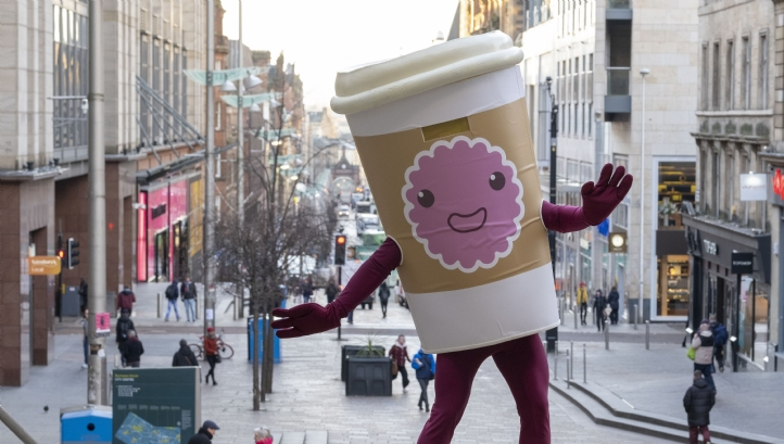 An audit of Glasgow's waste last year found that 48% of its drinks waste was accounted for by coffee cups