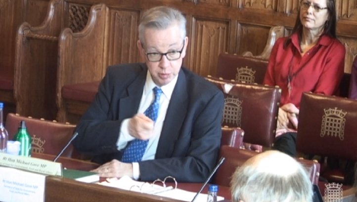 Gove announces plans for a 'shadow watchdog' in the event of a no deal Brexit