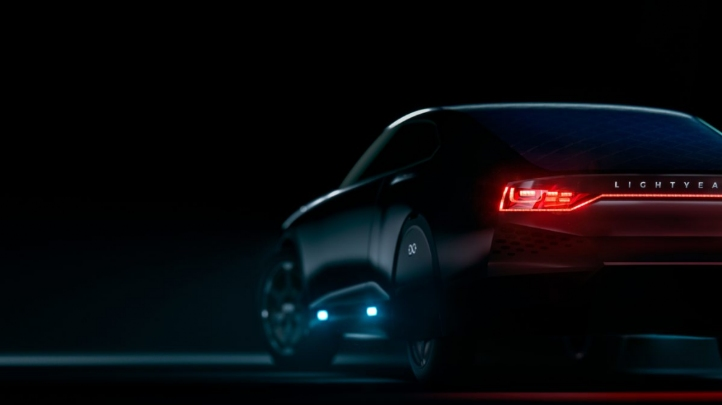 <p>The initial designs for the car were unveiled last September. Image: Lightyear</p>