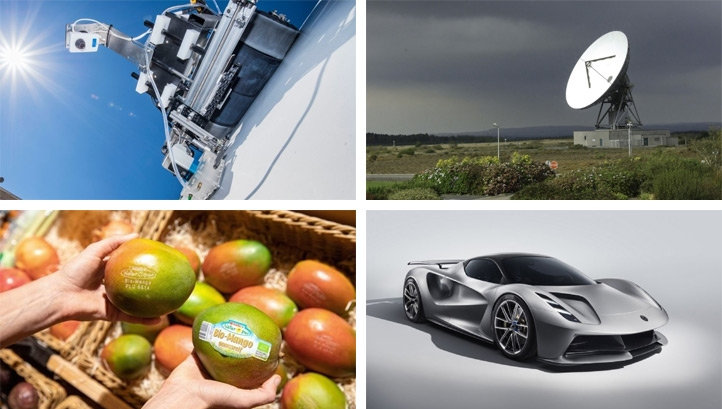 This week's innovations could drive significant progress across the transport, food and renewable energy sectors