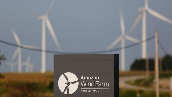 Amazon has invested in 1,342MW of electricity generation capacity to date