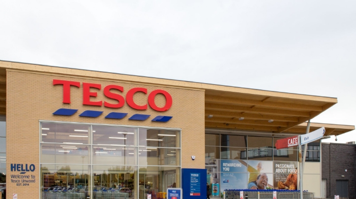 Tesco has already set goals to remove non-recyclable plastics from its own-brand lines by the end of 2019, and to halve own-brand packaging by weight against a 2007 baseline by 2025. Image: Tesco