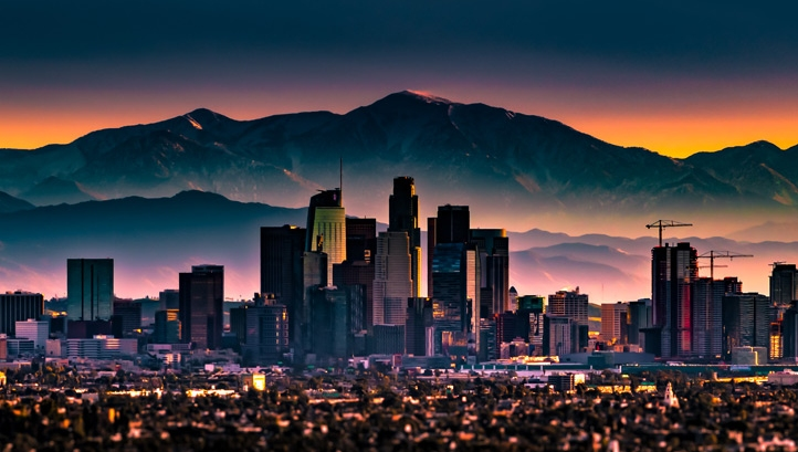Los Angeles is one of the cities to have reached peak emissions