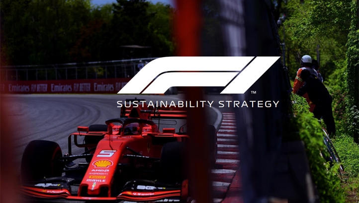 Details on how F1 plans to meet its 2030 target are detailed in its first sustainability strategy. Image: F1