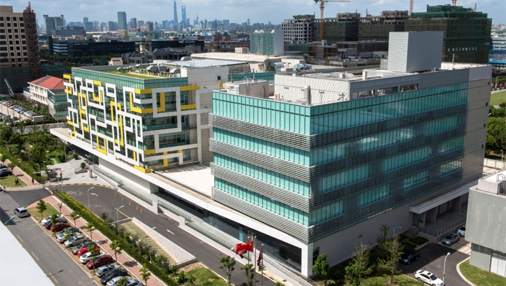 Pictured: AstraZeneca's R&D hub in China