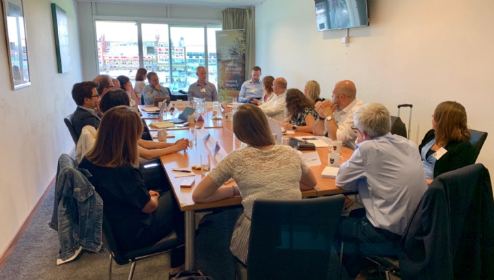 The roundtable was chaired by Business in the Community's environmental director Gudrun Cartwright and included 16 other sustainability and climate leaders