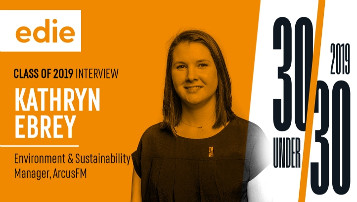 Kathryn works as a one-woman team and is Arcus FM's first environment and sustainability manager