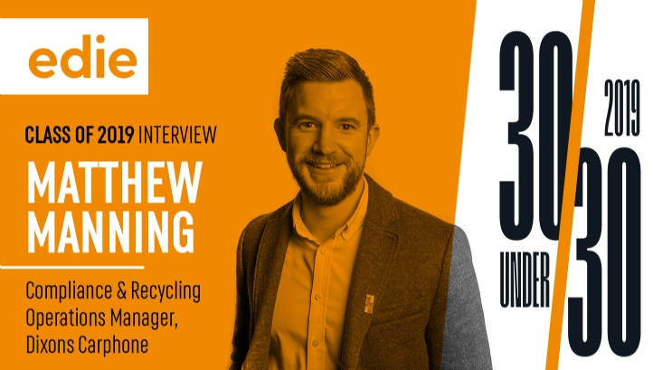 Matt has been overseeing circular economy initiatives at Dixons Carphone for three years