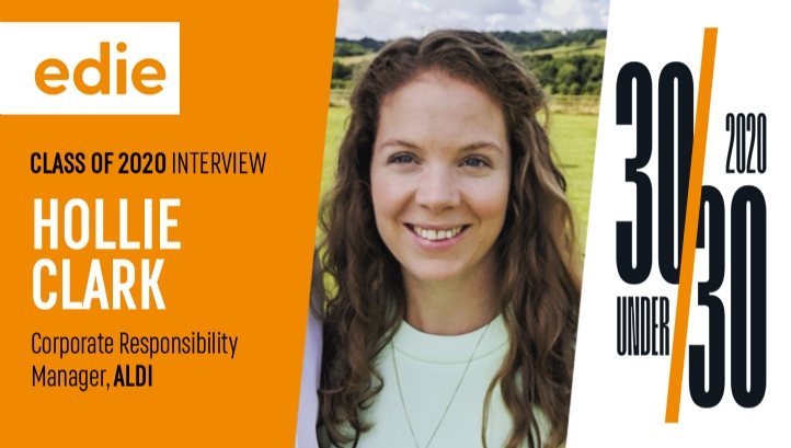 Hollie has been with Aldi for around four years and plays a core role in delivering against its plastics reduction targets
