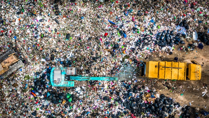 How much waste does the UK produce? And how much is recycled?