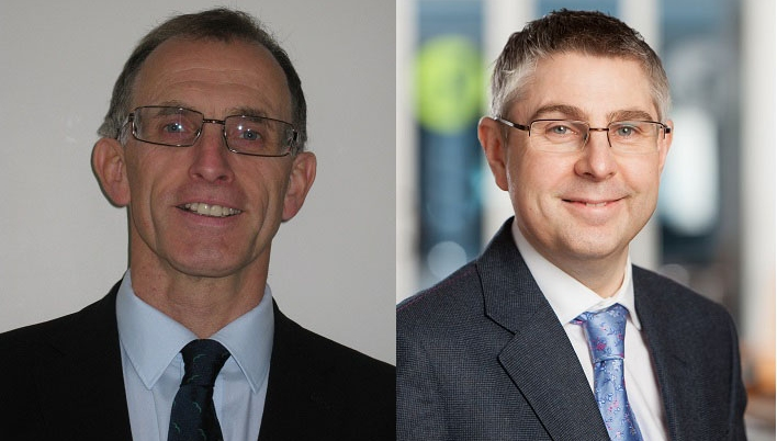 Environment Agency director Ken Allison and  Marshalls' director of sustainability Christopher Harrop were both recognised in the 2019 New Year's Honours list