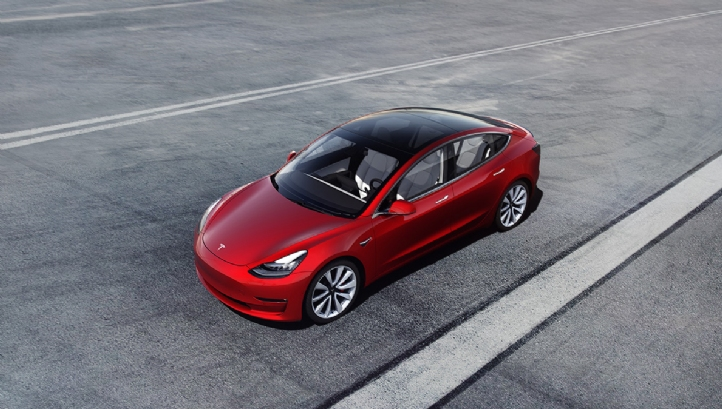 Tesla's cheapest car, the Model 3, will now cost US customers $44,000 (£35,000)