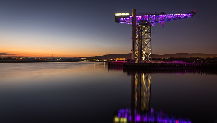 Titan Crane on the River Clyde