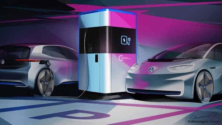 VW will trial the first mobile station in the first half of 2019 at its home city of Wolfsburg in Germany