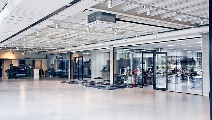 The launch of the jeans follows three years of research at PVH Corp's Denim Centre (pictured)