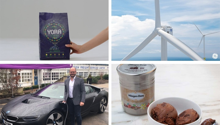 This week's best innovations could drive significant change across the food, renewables and retail sectors