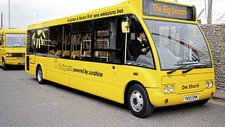 Brighton & Hove's Big Lemon bus fleet will be one of seven to receive funding under the scheme