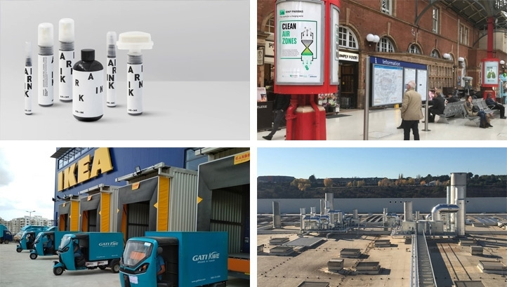 A number of eye-catching and potentially transformational innovations aimed at tackling dirty air have emerged in recent times