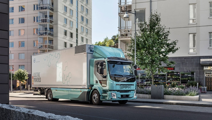 The trucks offer a driving range of up to 300km (186 miles)