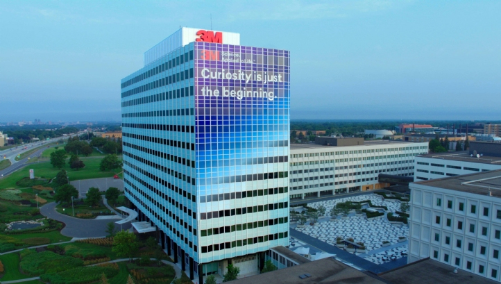 3M's Minnesota headquarters will be the first of the company's facilities to switch to 100% renewable power