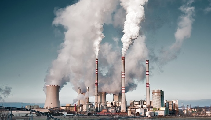A coal-fired power station in Pocerady, Czech republic. The UK is rapidly replacing such stations with gas-powered facilities by 2025