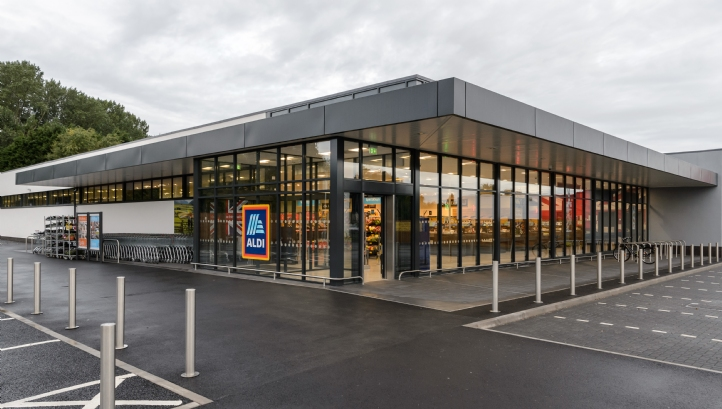 The phase-out will cover all of Aldi's UK and Ireland stores
