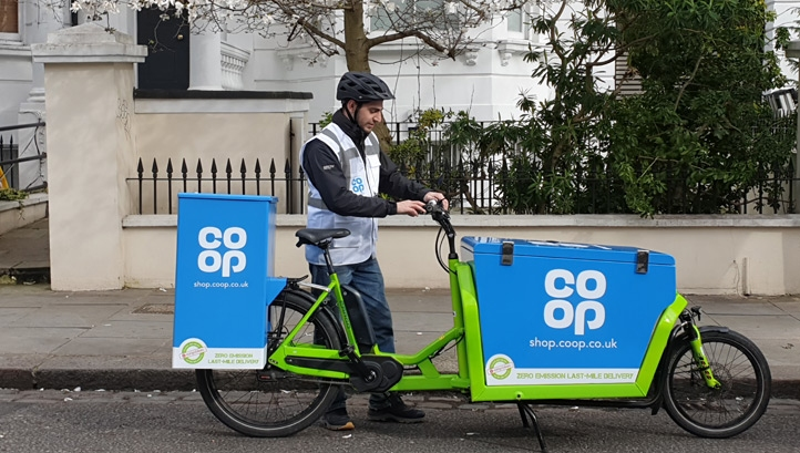 "The Co-op made the move to look at ""different ways"" of bringing products closer to shoppers"