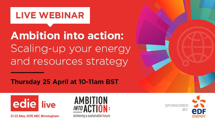 Now on demand: ambition into action webinar featuring
