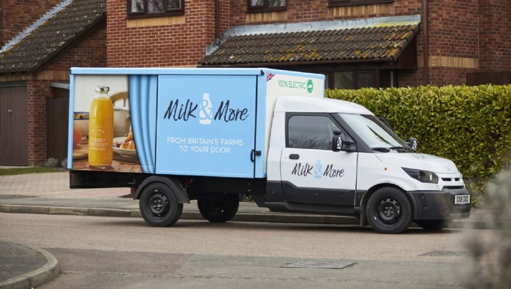 Milk & More has installed dedicated EV charging points at 25 of its distribution centres to support the electrification of its fleet