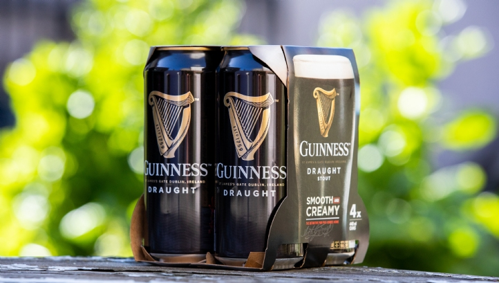 Diageo will source 100% of the pulp used to make the new packaging from suppliers certified as sustainable