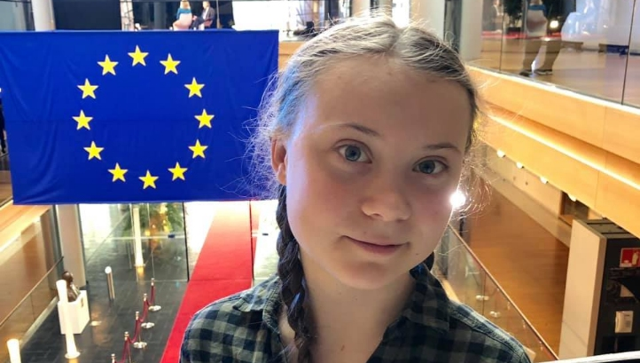 Thunberg urged MEPs to