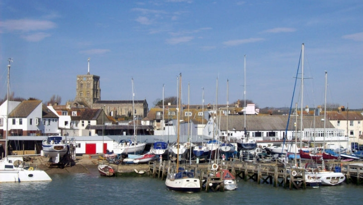 The VPP will be hosted across Shoreham-by-Sea (pictured) and Worthing