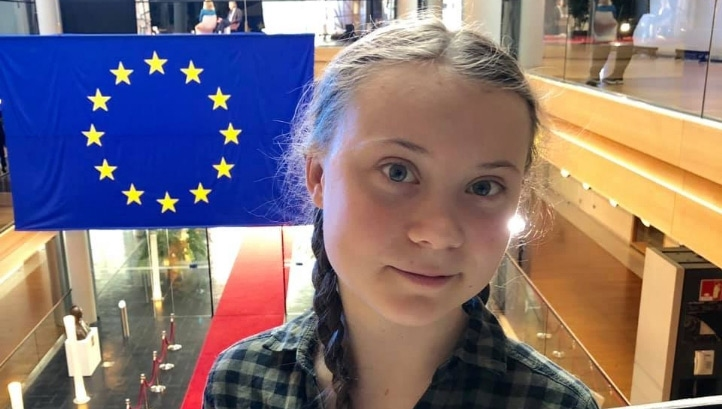 Thunberg urged MEPs to