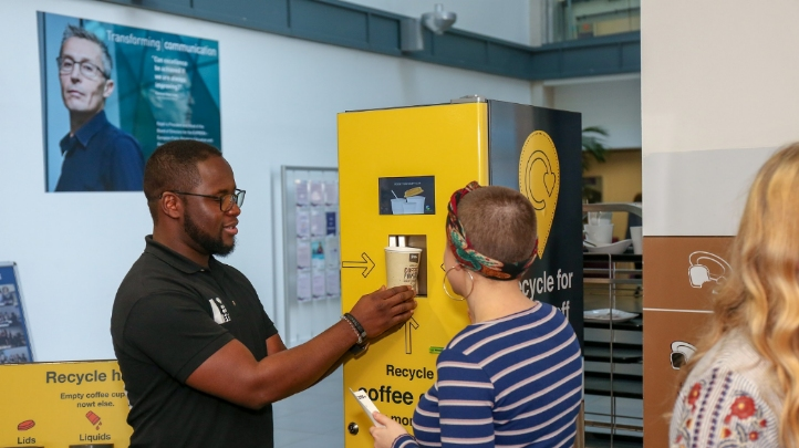Recycling reward machines, which give users discount vouchers for depositing their empty packaging, have proven popular in Leeds