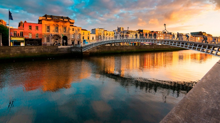 Dublin (pictured) is among the eight cities taking part