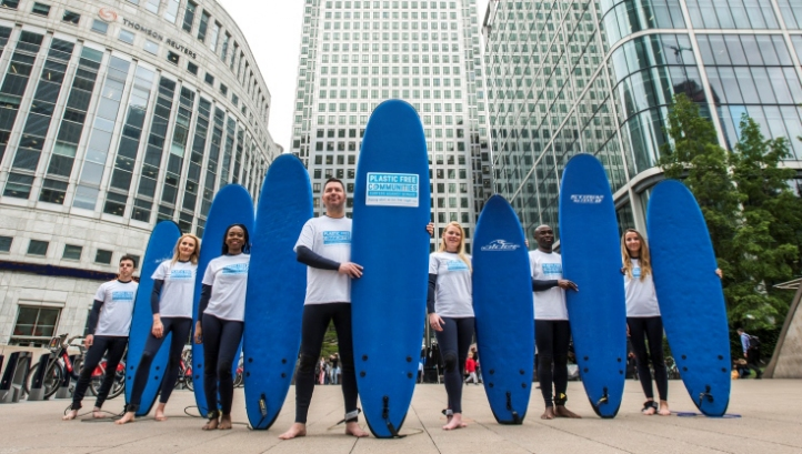 The announcement comes on the first anniversary of Canary Wharf Group's flagship 'Breaking the Plastic Habit' scheme