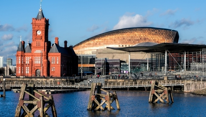 Pictured: The Welsh Assembly building in Cardiff Bay.