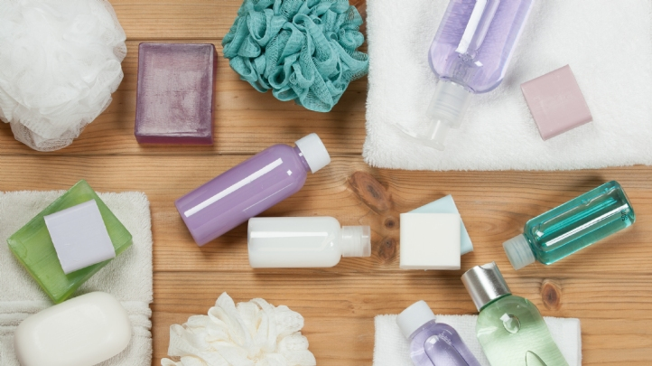 One-third of the single-use plastic items found in the street sampled for the BBC show were for bathroom products