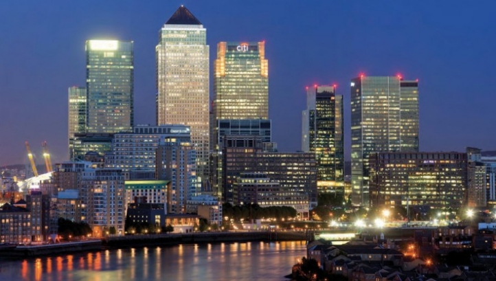 The Canary Wharf business district. Developer Canary Wharf Group, which has sourced 100% renewable electricity since 2012, is among the signatories