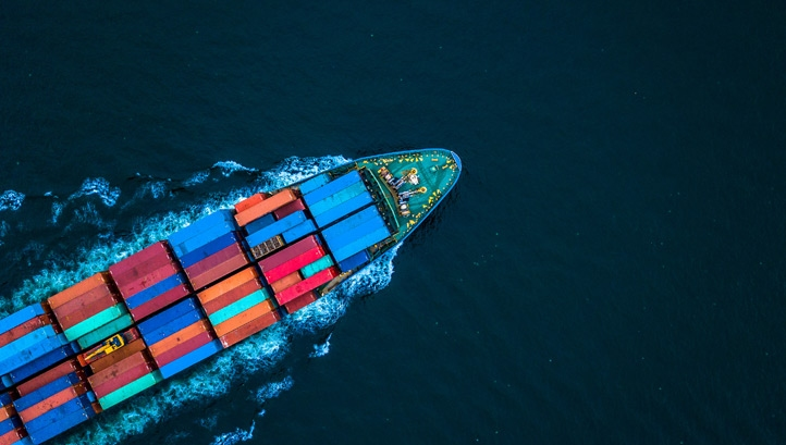 The international shipping industry is currently responsible for about 2.5% of global CO2 emissions
