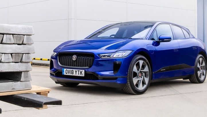 JLR's first electric vehicle, the iPace, wasn't manufactured in the UK