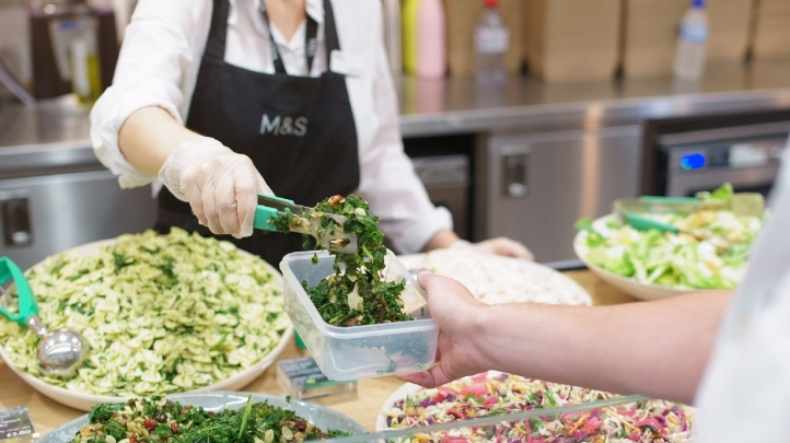M&S has 23 Market Place counters across the UK, all located in busy town and city centres