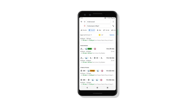 The new feature will be rolled out across 30 countries in the coming weeks. Image: Google