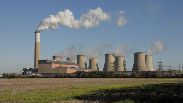 Pictured: The Cottam coal power station, which is set to cease generation next Monday (30 September). Image: EDF